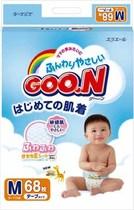 日本直邮 GOON大王纸尿裤/尿不湿M68 6包包邮(海运) 可混搭 价格:150.00