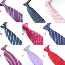 职业男士领带南韩涤丝经典正装男士商务领带批发价供应可定制logo 价格:8.99