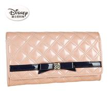 迪士尼米奇专柜正品13新款PU菱格时尚长款女士钱包AP2268-02 价格:179.00