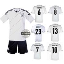 13-14德国队足球服套装 男子主场客场国家队短袖足球衣运动服 价格:45.00