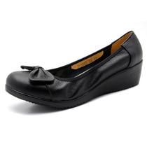 春款特价真皮女鞋 蝴蝶结小坡跟舒适休闲妈妈单鞋 牛皮软底大码鞋 价格:68.00