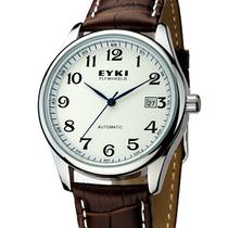 正品艾奇手表男士 皮带男表 全自动机械表 韩国时尚商务男式手表 价格:182.00