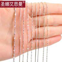 925银饰品项链 女 韩版 时尚长款 银链子 短款 纯银项链 锁骨颈链 价格:22.00