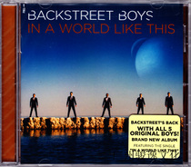 美版 后街男孩 Backstreet Boys In a World Like This 1CD 价格:93.00