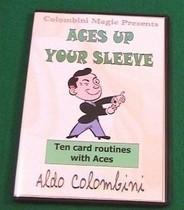 实用4A系列魔术 Aldo Colombini - Aces Up Your Sleeve 价格:3.00