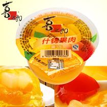 【喜之郎果冻 果肉果冻 什锦味 200g单杯装】果汁 果肉 糖果 零食 价格:2.90