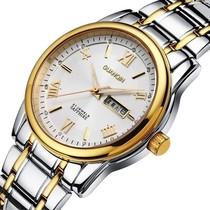 包邮 瑞士冠琴正品男士手表 超薄石英表 防水双日历夜光商务男表 价格:276.00