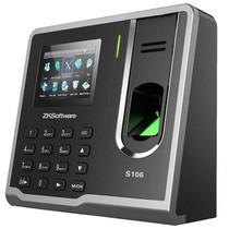 正品行货中控(zksoftware) S106 自助式指纹考勤机 价格:549.00