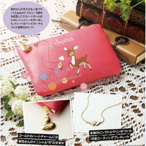 T03433 日本杂志款sweet 6月Jupiter小鹿小物包 零钱包 价格:5.80