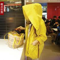2013韩版东大门秋装外套新款风衣女带帽中长款大码胖mm宽松显瘦潮 价格:161.00