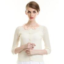 欧时力Five Plus 2013秋装正品棉麻薄针织衫开衫毛衣1133030480 价格:139.60