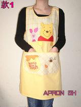 店员服winnie维尼小熊新款正品可爱日本公主围裙韩版时尚外贸罩衣 价格:45.00