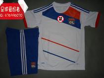 里昂球衣 12-13里昂白色短袖足球服 主场训练服 比赛服 法甲LYON 价格:55.00