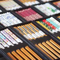 包邮出口日本日式和风竹木 筷子竹筷 礼盒5双套装便携 结婚回礼品 价格:6.90