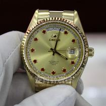专柜正品英纳格ENICAR男表精钢全自动机械男士手表3169/50/38PR 价格:7712.10