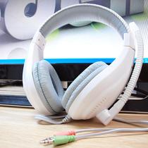 狼博旺NO2000电脑耳机耳麦头戴式影音游戏重低音带话筒 价格:19.80