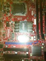成色好微星G31TM-P21 g31 775 ddr2主板 红色经典主板秒945 价格:150.00