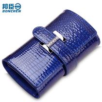 正品新款 女士钥匙包时尚鳄鱼纹多功能钥匙包女式小钱包 放卡 价格:69.00