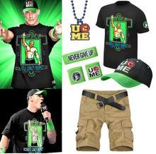 约翰/项链 2014 wwe 帽子T恤Cena John 约翰塞纳套装送WWE公仔...