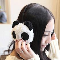 超可爱卡通熊猫  护耳套耳罩保暖毛绒耳罩 价格:5.80