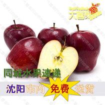 美国进口红蛇果红苹果新鲜水果18.5/斤沈阳包邮 价格:18.50