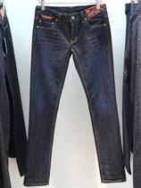 专柜代购adidas Y-3 女式牛仔铅笔裤/小脚裤 P95324 原价2550 价格:1099.00