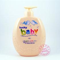 香港春甫堂LuckyBaby幸运宝宝洗护2合1 洗发沐浴1000ml 纯正温和 价格:38.00