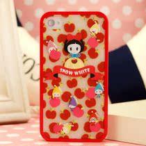 童话 梦幻甜美系列 小红帽 白雪公主iphone 4/4s 手机壳子 保护套 价格:25.00