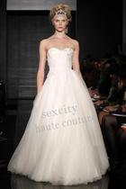 高级定制婚纱礼服--Reem Acra-上海实体店-定制实样 价格:4900.00