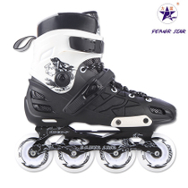 力星运动休闲暴走轮学生成人男女鞋单排旱冰鞋平花鞋直排滑轮滑冰 价格:418.00
