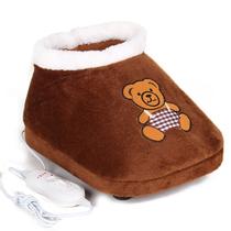 星空夏日 第二代按摩电暖鞋 可拆洗电热鞋 插电式暖脚宝【包邮】 价格:39.00