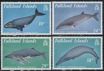 福克兰群岛1989,鲸类4全新CV$11.5 MNH! 价格:56.00