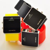 创意led特价促销adidas阿迪达斯 情侣手表 品牌名牌手表 价格:9.80