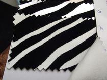 人造革皮革面料硬包软包面料沙发面料汽车装饰 斑马植绒 热卖! 价格:32.00