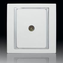西蒙开关插座西蒙58系列有线电视插座S55111 正品 西蒙面板带防伪 价格:18.70