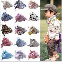 婴儿 猿人头宝宝三角巾 口水巾 三角 纯棉 头巾 围巾 围嘴 价格:1.60