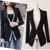 十衣素2012新款韩版大码修身外套白色西装西服女休闲小西装夏 A 价格:146.00