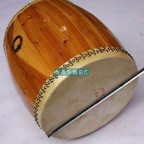 江月牌优质11寸专业龙船鼓 白坯龙舟鼓大鼓直径37CM高43CM 送鼓棒 价格:258.00
