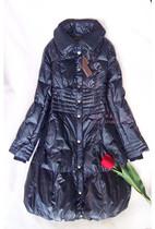 秋冬新款正品珊尔丽雪长款修身保暖羽绒服,加大码低折价 价格:376.00