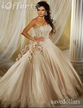 婚纱礼服 BRIDAL WEDDING DRESS EVENING DRESSES PROMS FORMAL 价格:980.00