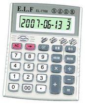 厂家直销 易利发EL-7766 真人发语 带闹钟功能计算器计算机 价格:19.00