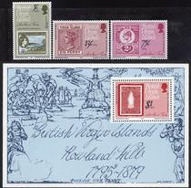 英属维尔京群岛1979罗兰希尔逝世百年票张\马尔雷迪\圣女失踪MNH 价格:12.00
