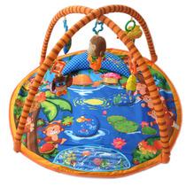 Lalababy拉拉布书猴子捞月音乐游戏毯 婴儿健身架 音乐毯包邮1.2 价格:247.00