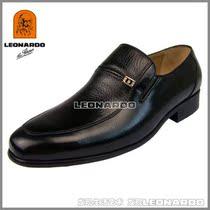 包邮专柜正品利奥纳多LEONARDO老人头男鞋0566113 专柜价880 价格:368.00
