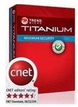 趋势科技Trend Micro Titanium internet Security 2012 1年卡 价格:5.00