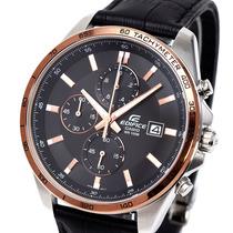 正品男式卡西欧手表 男士时尚大表盘商务休闲皮带男表EFR-512L-1A 价格:688.00