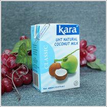 佳乐 椰汁 印尼进口KARA椰浆 400ML原包装 价格:11.00