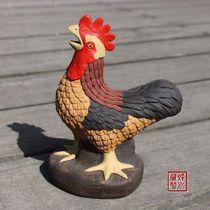 紫砂雕塑 紫砂茶宠 紫砂茶玩 紫砂摆件之 公鸡 正品 精品 价格:168.00