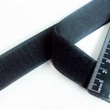 25MM宽子母扣无胶魔术贴尼龙搭扣  黑色粘扣带沙发套配件窗帘配件 价格:1.20