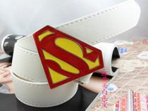 【2010火爆热卖】街头嘻哈 红色超人头  皮带牛仔裤完美搭配 价格:13.00